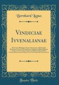 Vindiciae Ivvenalianae [LAT]