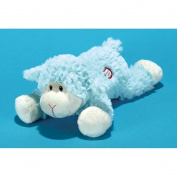 Baby Boy Blue Lamb Soft Plush Figurine Doll Sings Tune Jesus Loves Me