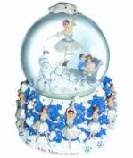 "Snow Scene Musical Snowglobe Plays ""Dance of the Snowflakes"" by Tchaikovsky"