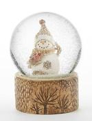 Delton Products 10cm x 13cm Resin Snowman Snowglobe
