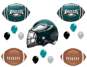 Philadelphia Eagles Helmet Birthday Party Balloons Decoration Supplies