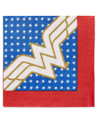 American Greetings Wonder Woman 16 Count Lunch Napkins