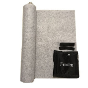 Puzzle Mat Frealm Jigsaw Puzzle Mat Puzzles Storage Saver Puzzle Playmat with Stringdraw Large Storage Bag, Up to 2000psc - Light Grey