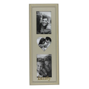 Juliana Wooden Triple Photo Frame - Family