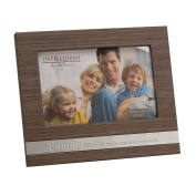 Juliana MDF Frame With Metal Plaque Family 6x4