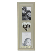 Juliana Wooden Triple Photo Frame - Grandkids