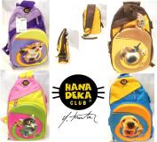 Hana Deka Club Kids Animals Backpack Rucksack School Sport PE Bags