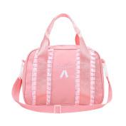 Pueri Girls Dance Bag Handbag Small Gym Duffle Bag Children Portable Shoulder Messenger Bag