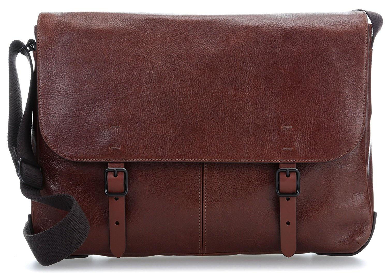 f263f19f6e Fossil Herrentasche . Defender Messenger, Men's Bag, Brown (Cognac ...