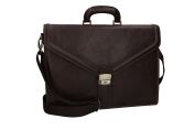 Folder PIERRE CARDIN bag office professional moro in leather Made in Italy VH73