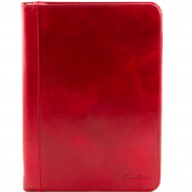 TUSCANY LEATHER Men's Organiser Clutch red red One Size