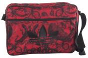 Folder man ADIDAS bag messenger red with shoulder strap VF222