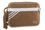Folder man ADIDAS bag messenger brown with shoulder strap VF215
