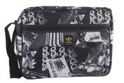 Folder man ADIDAS bag messenger black with shoulder strap VF223