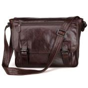 Vintage Military Men's Canvas Leather Messenger Bag Casual Cross Body Travel Shoulder Bags Satchel School Laptop Bag