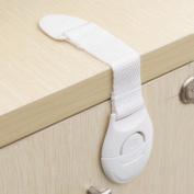 Fridge Safe Locks,DIKEWANG Baby Kids Toddler Safety Fridge Drawer Door Cabinet Cupboard Locks