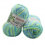 JoyJay New 100% Bamboo Cotton Warm Soft Natural Knitting Crochet Knitwear Wool Yarn 50g D