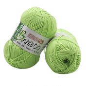 JoyJay New 100% Bamboo Cotton Warm Soft Natural Knitting Crochet Knitwear Wool Yarn 50g