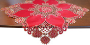 EcoSol Designs Embroidered Table Topper Centrepiece