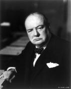 Winston Churchill 8x10 Photo