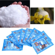 5 Pack Artificial Instant Snow Fluffy Super Absorbant Decorations Seasonal Garden Home Decor Accents For Christmas Wedding Kids Children Play