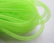 YYCRAFT 15 Yards Solid Mesh Tube For Craft Deco Flex for Wreaths Cyberlox Crin Crafts 8mm 3/8-Inch