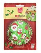 Cake Mate No Fade Christmas Standard Size Baking Cups - Modern Christmas