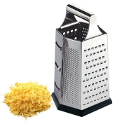 6 Sided Steel Cheese Grater.
