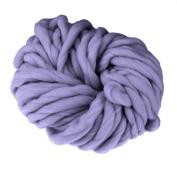 Demiawaking Chunky Wool Knitting Yarn Soft Thick Hand Knitting Wool Yarn 250g