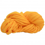 DIKEWANG DIY Wool Yarn Super Soft Cotton Plus Superfine Fibre Bulky Arm Knitting Wool roving Crocheting Ball Woollen, Making something Scarf Hat by Hand