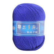 Prevently Brand New Solid Colour 1pc Soft Cashmere Yarn Hand-knitted Mongolian Woollen DIY Weave Thread