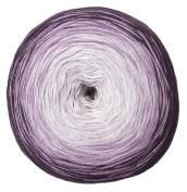 Woolly Hugs Bobbel Cotton Colour 22 - berry, 200g Bobbel with long Degradé - Colour gradient