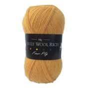 Cygnet C1004/5512 Mustard 75/25% Wool/Nylon Truly Wool Rich 4 Ply Yarn 50g
