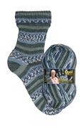 My socks design opal 4-way 9374 Baltic Surf