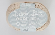 Debbie Bliss Eco Baby Hand Knitting Yarn - 50g 26 Pebble