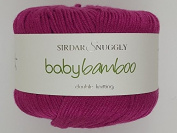 Sirdar Snuggly Baby Bamboo DK - 50g 106 Funky Fuchsia