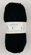 Sirdar Snuggly Double Knitting DK - 50g Black