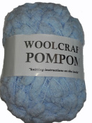 Pompom Knitting Yarn Woolcraft Branded 100% Polyester 6 Shades available - 200g, 100m Ball