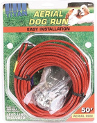 Titan Aerial Dog Run Dog Trolley Tie Out Cable System � 15m