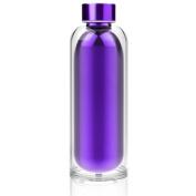 ASOBU Escape Purple Water Bottle 500 ml