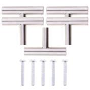 Jili Online 5pcs 5.1cm Home Caravan Cabinet Cupboard Drawer Pull Handle Bar Knob Hardware