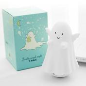 Dsstyle Mini Angel Spirit Shape Bedside Nightlight USB Charging Desktop LED Lamp Touch-sensitive Light Valentine's Day Gift