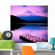Mount Fuji Wall Mural by Wallmonkeys Peel and Stick Graphic (90cm H x 90cm W) WM149239