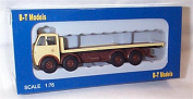 base toys Foden FG FlatBed Northern Motor Utilities truck 1:76 railway scale model