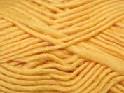 Wendy Aspire Knitting Yarn Chunky 3247 Yellow - per 100 gramme ball