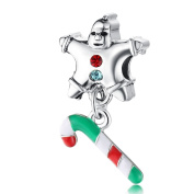 Yingyan Silver Charms Christmas Gift European Bead For Pendant Necklace Bracelets Bangle Jewellery