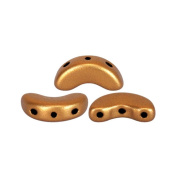 The Pearl by Puca® DIY – Arcos 5x10 mm Bronze – 10g – Matte Gold