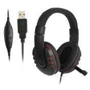 Yeshi Gaming Headphone USB Wired Stereo Headset With Micphone for Sony PS3 PS4 PC Computer