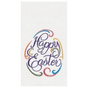 C & F Enterprises Happy Easter Egg Towel