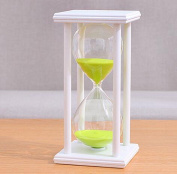 CHENGYIDA 60 Minutes green Colour Sand Hourglass Timer Time Retro Ornaments Creative Gift
